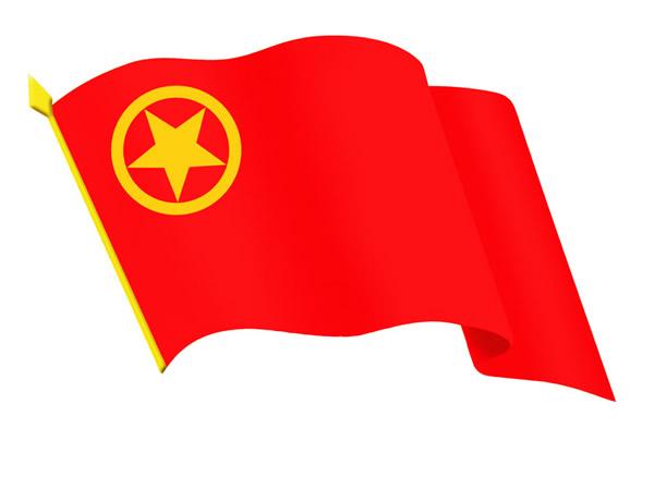 共青团团旗红色象征_漯河共青团